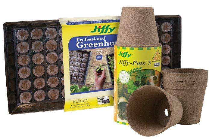 Jiffy Professional Greenhouse Seed Starter Kit