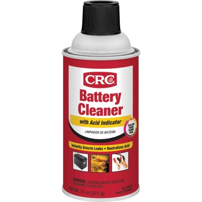 CRC 11 Oz. Battery Cleaner with Acid Indicator