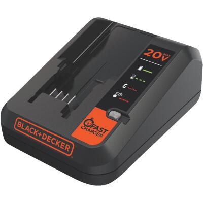 Black & Decker 12 Volt to 20 Volt MAX Lithium-Ion Fast Battery Charger
