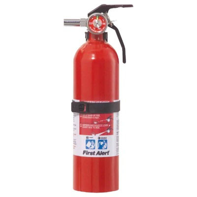 First Alert 5-B:C Rechargeable Recreation Fire Extinguisher