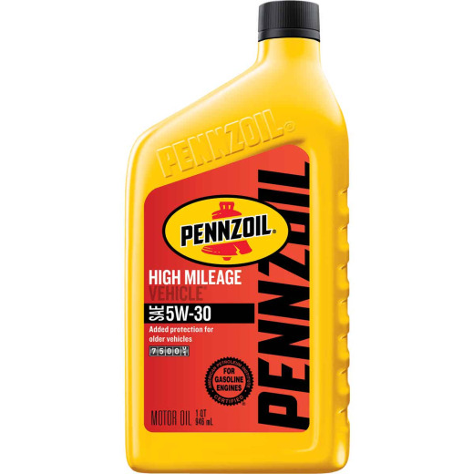 Pennzoil 5W30 Quart High Mileage Motor Oil