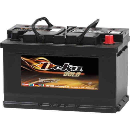 Deka Gold 12-Volt 790 CCA Automotive Battery, Top Post Right Front Positive Terminal