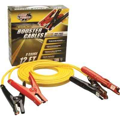 Road Power 12' 8 Gauge 200 Amp Booster Cable