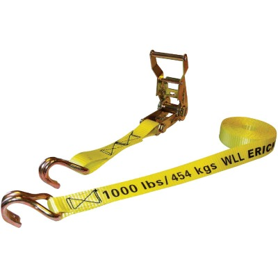 Erickson 1 In. x 25 Ft. 3000 Lb. Heavy-Duty Ratchet Strap