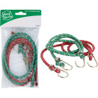 Smart Savers 6mm x 36 In. Metal with Safety End Bungee Cord (2-Pack) Image 1