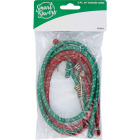 Smart Savers 6mm x 36 In. Metal with Safety End Bungee Cord (2-Pack) Image 2