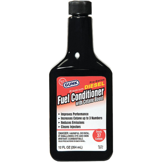 Gunk 12 Oz. Diesel Additive Fuel Conditioner with Cetane Boost
