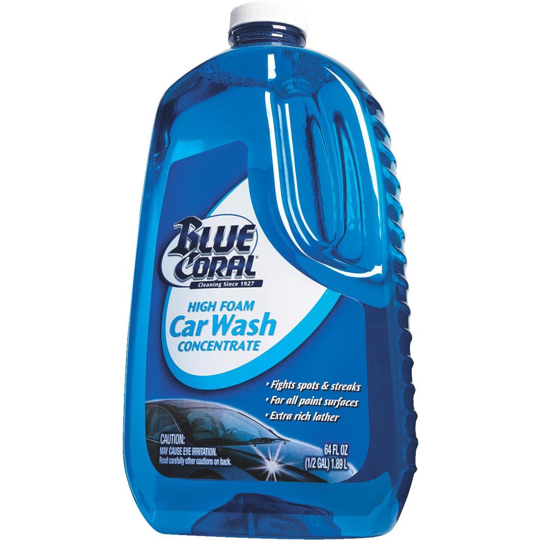 Blue Coral 64 Oz. Liquid High Foam Concentrate Car Wash Image 6