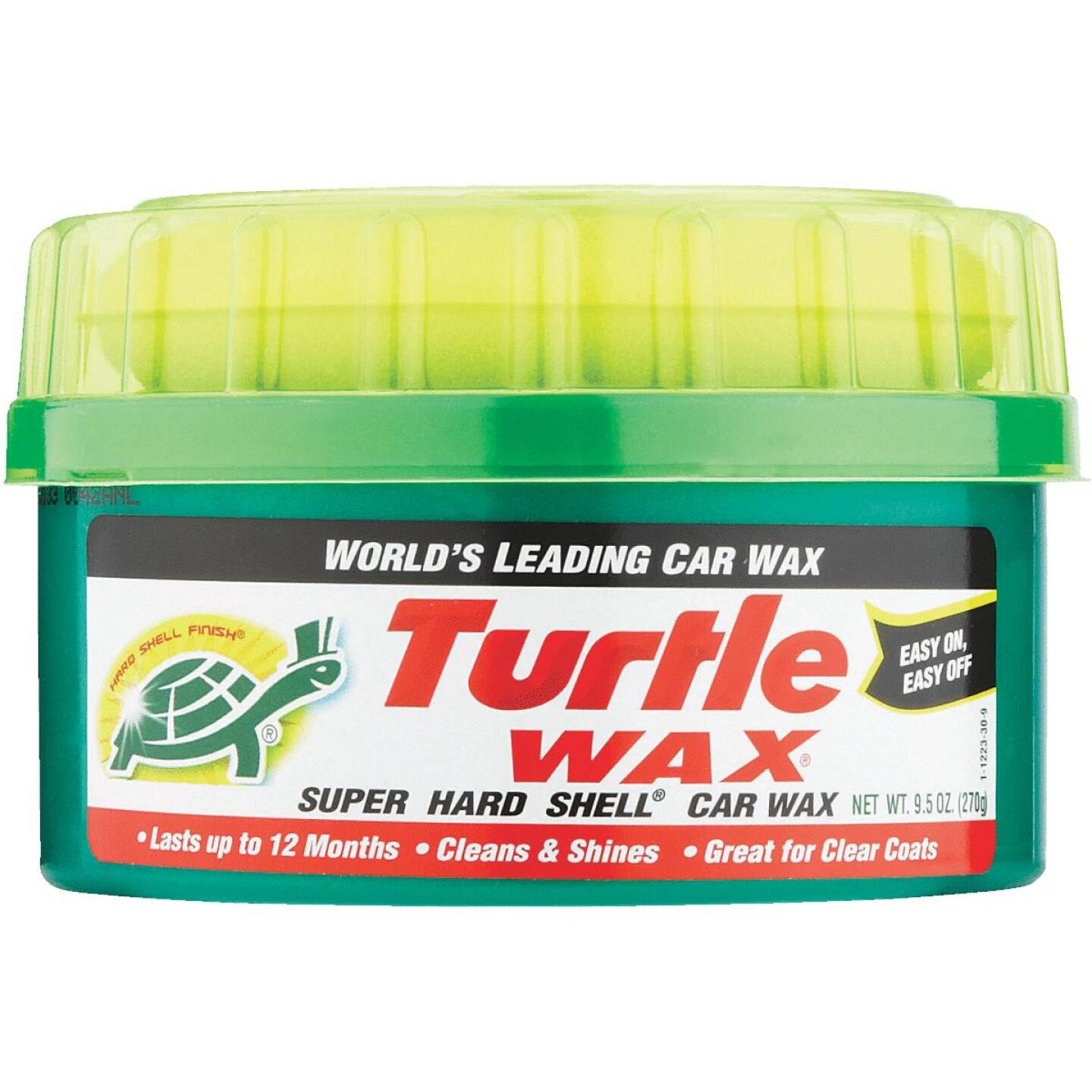 Turtle Wax Super Hard Shell Paste 9.5 oz Car Wax Image 2