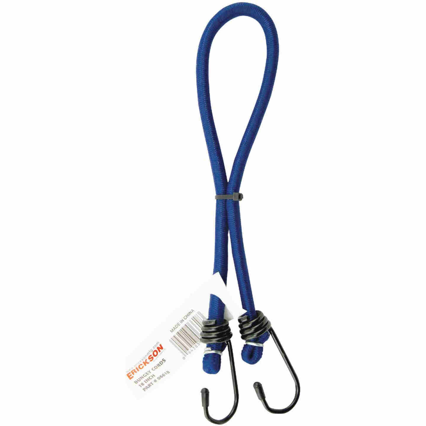 Erickson 1/4 In. x 18 In. Bungee Cord, Assorted Colors Image 2