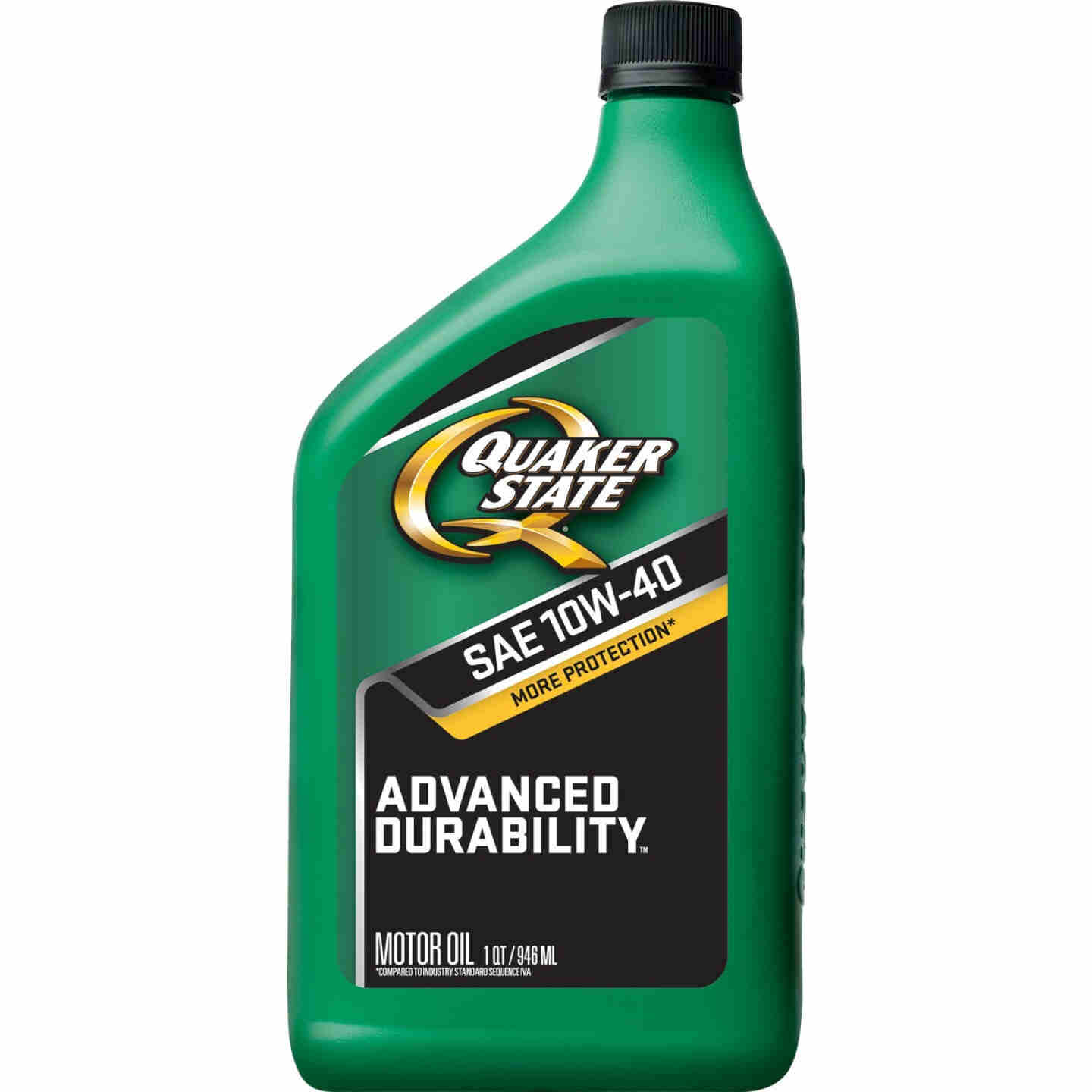 Quaker State Advanced Durability 10W40 Quart Motor Oil Image 1