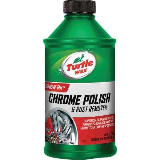 Turtle Wax RENEW Rx 12 Oz. Liquid Chrome Polish