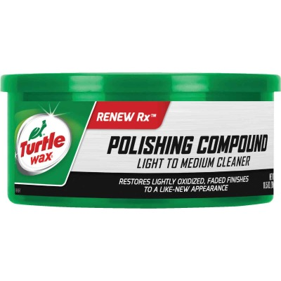 Turtle Wax RENEW Rx 10.5 Oz. Paste White Polishing Compound