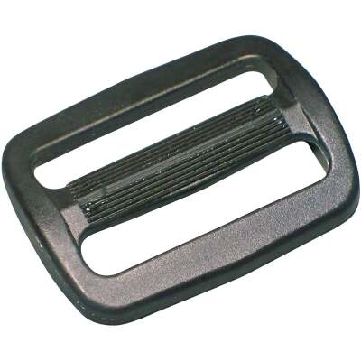"Turf 3/4"" Black Strap Buckle"