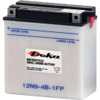 Deka 12-Volt 85 CCA Powersport Battery, Left Front Positive Terminal Image 1