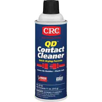 Crc QD 11 Oz. Aerosol Contact Electronic Parts Cleaner