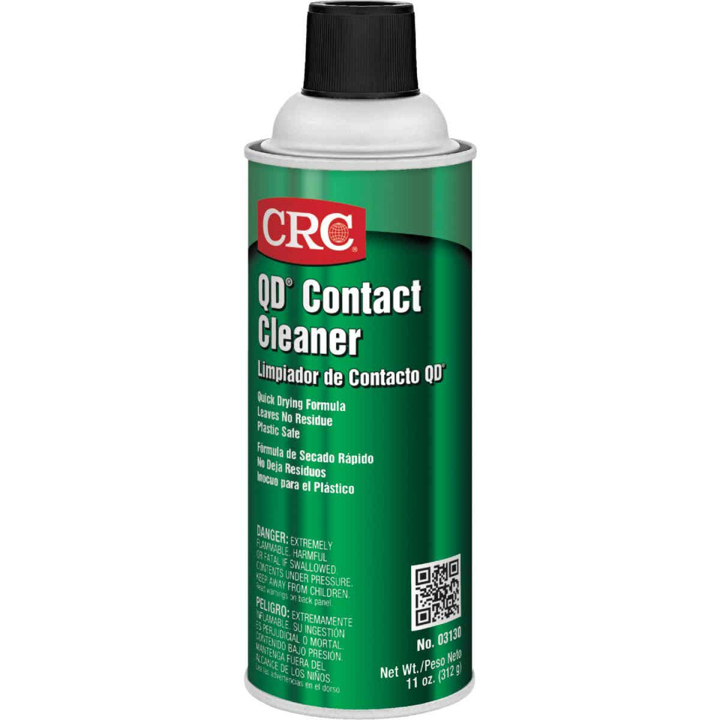 CRC 11 Oz. Aerosol QD Contact Electronic Parts Cleaner Image 1