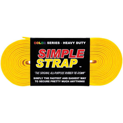 Simple Strap 40 mm x 20 Ft. Yellow Heavy-Duty Tiedown Strap