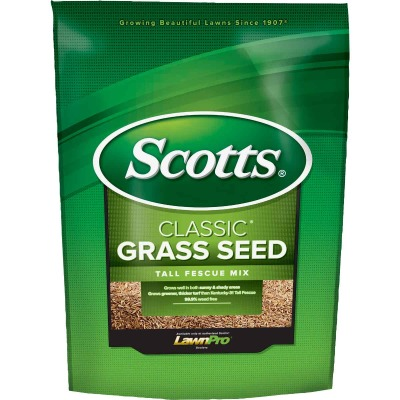 Scotts Classic 7 Lb. 1550 Sq. Ft. Coverage Tall Fescue Grass Seed