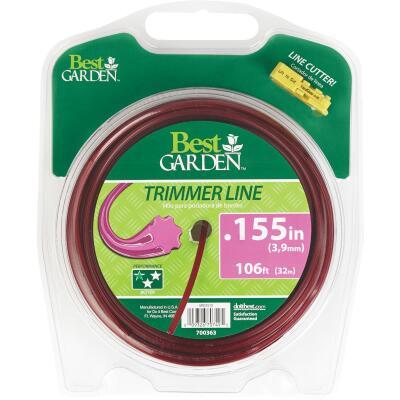 Best Garden 0.155 In. x 106 Ft. 7-Point Trimmer Line