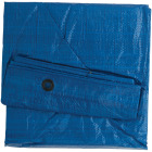 Do it Best Blue Woven 6 Ft. x 8 Ft. Medium Duty Poly Tarp Image 4