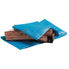 Do it Best Blue Woven 6 Ft. x 8 Ft. Medium Duty Poly Tarp Image 2