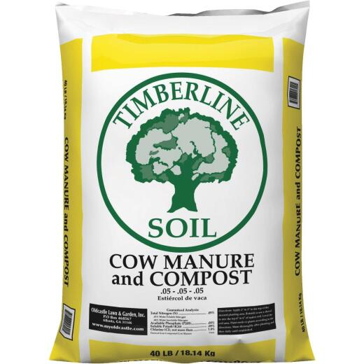 Timberline 40 Lb. Cow Manure & Compost