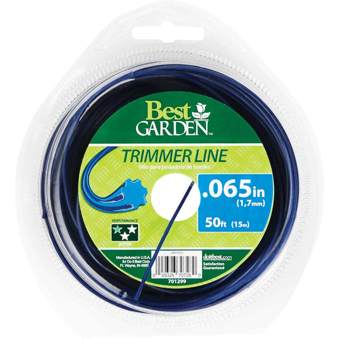 Best Garden 0.065 In. x 50 Ft. Round Trimmer Line Image 1