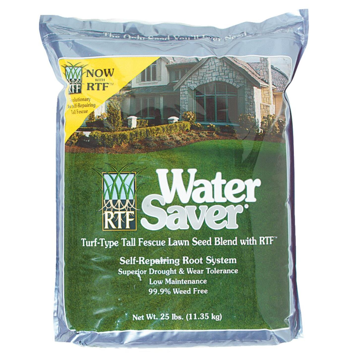 Water Saver 25 Lb. 2500 Sq. Ft. Coverage Tall Fescue Grass Seed Image 1