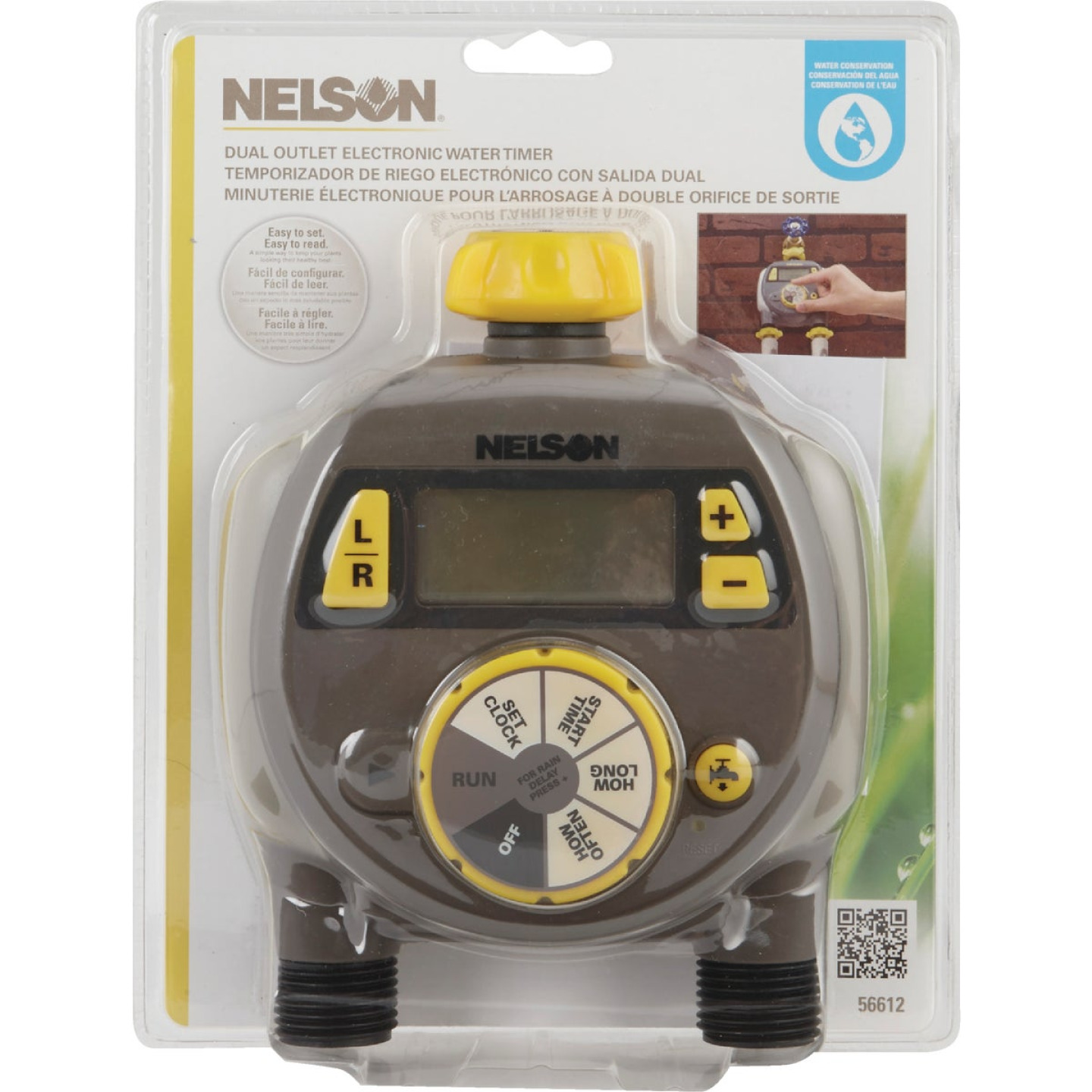 Nelson Electronic Dual Outlet Watering Timer Image 2