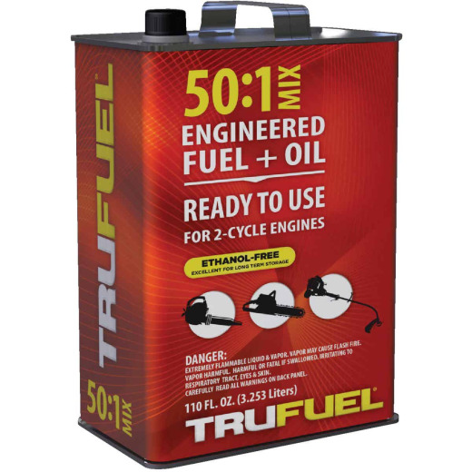 TruFuel 110 Oz. 50:1 Ethanol-Free Small Engine Fuel & Oil Pre-Mix