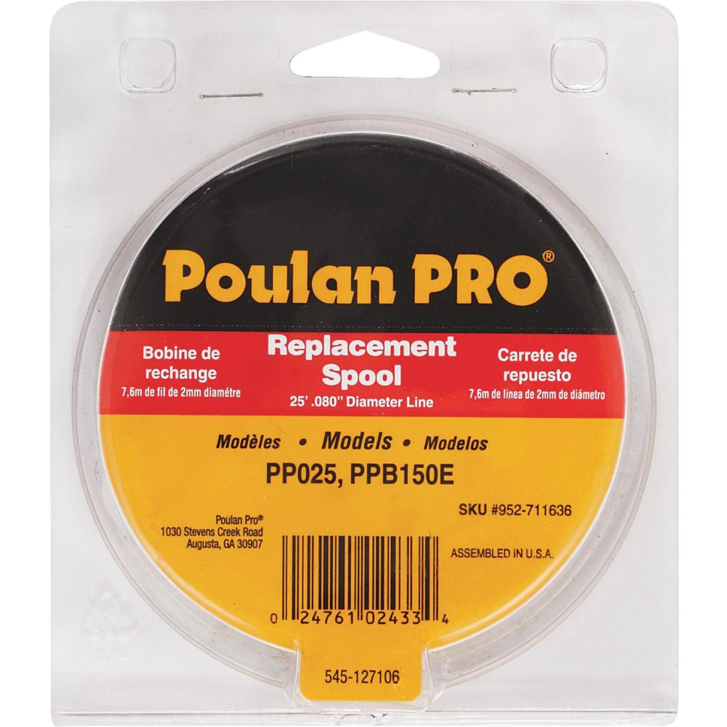 Poulan Pro Tap N Go 0.080 In. x 25 Ft. Dual Trimmer Line Spool Image 2