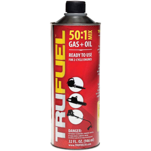 TruFuel 32 Oz. 50:1 Ethanol-Free Small Engine Fuel & Oil Pre-Mix