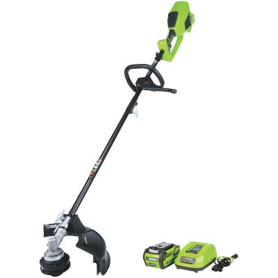 Greenworks G-Max 40V 14 In. Lithium Ion Straight Cordless String Trimmer