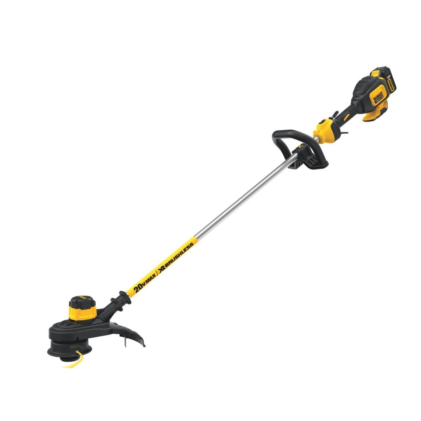 DeWalt 20V MAX 13 In. Lithium Ion Straight Cordless String Trimmer Image 4