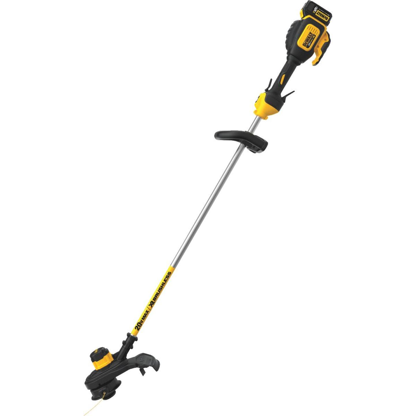 DeWalt 20V MAX 13 In. Lithium Ion Straight Cordless String Trimmer Image 5
