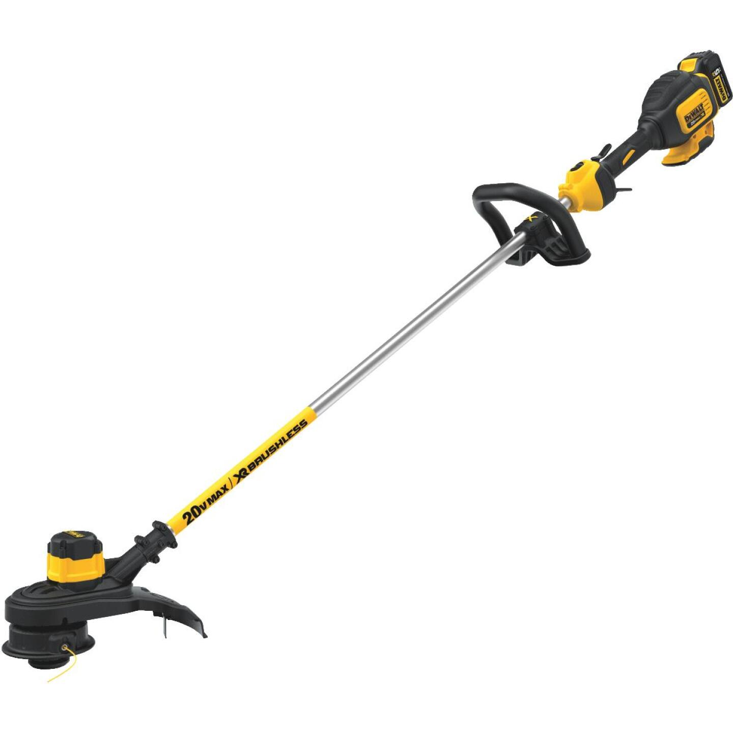 DeWalt 20V MAX 13 In. Lithium Ion Straight Cordless String Trimmer Image 1