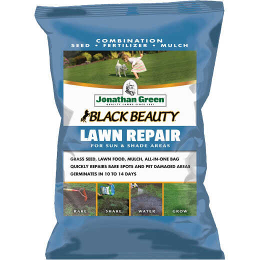 Jonathan Green 13.5 Lb. 300 Sq. Ft. Coverage Black Beauty Ultra Grass Patch & Repair