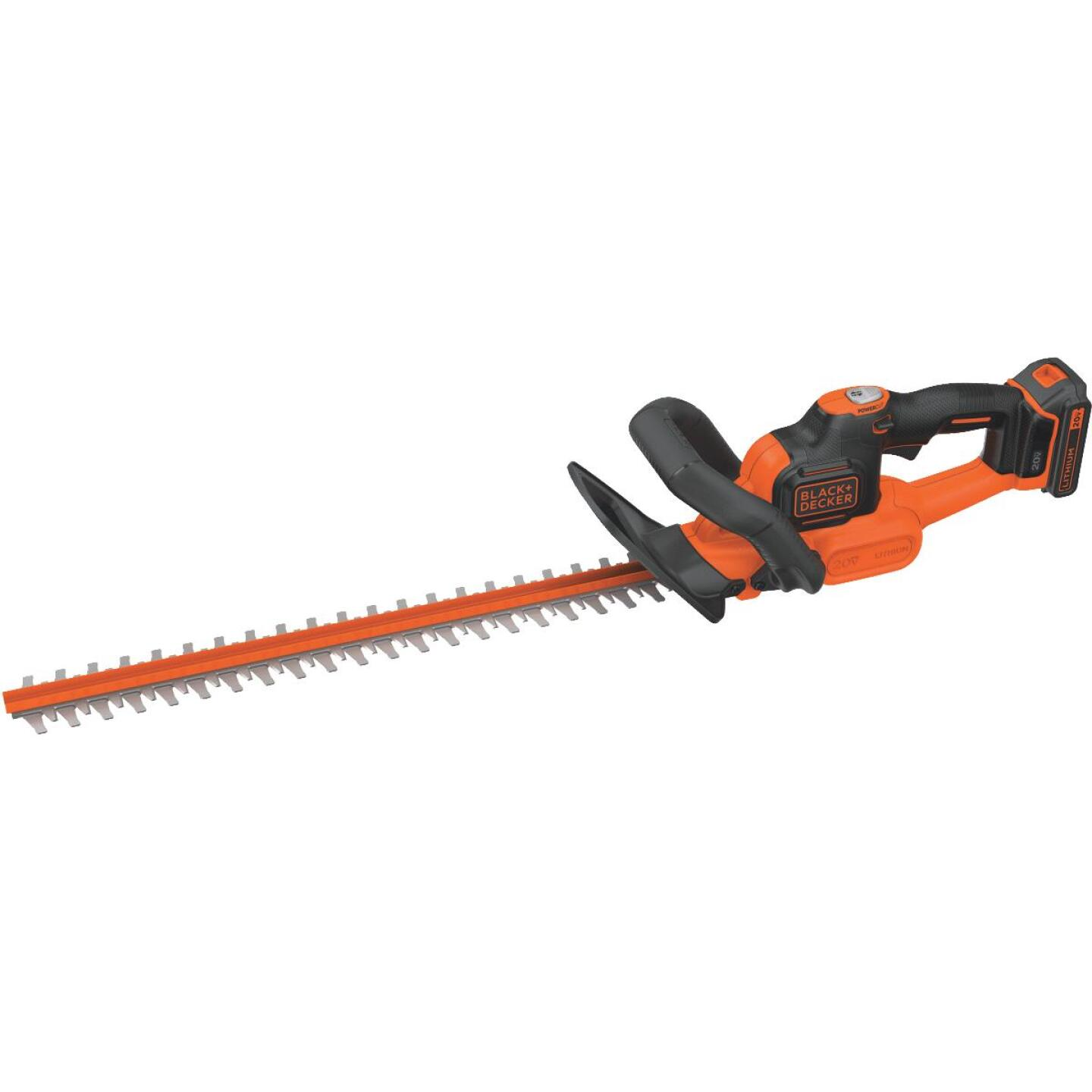 Black & Decker PowerCut 22 In. 20V Lithium Ion Cordless Hedge Trimmer Image 1
