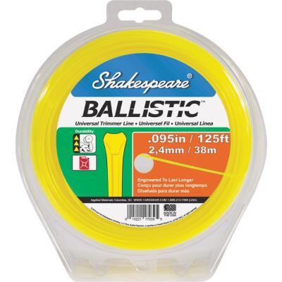 Shakespeare Ballistic 0.095 In.x 150 Ft. Universal Trimmer Line