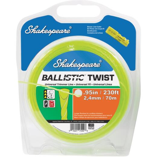 Shakespeare 0.095 In. x 230 Ft. Ballistic Twist Universal Trimmer Line