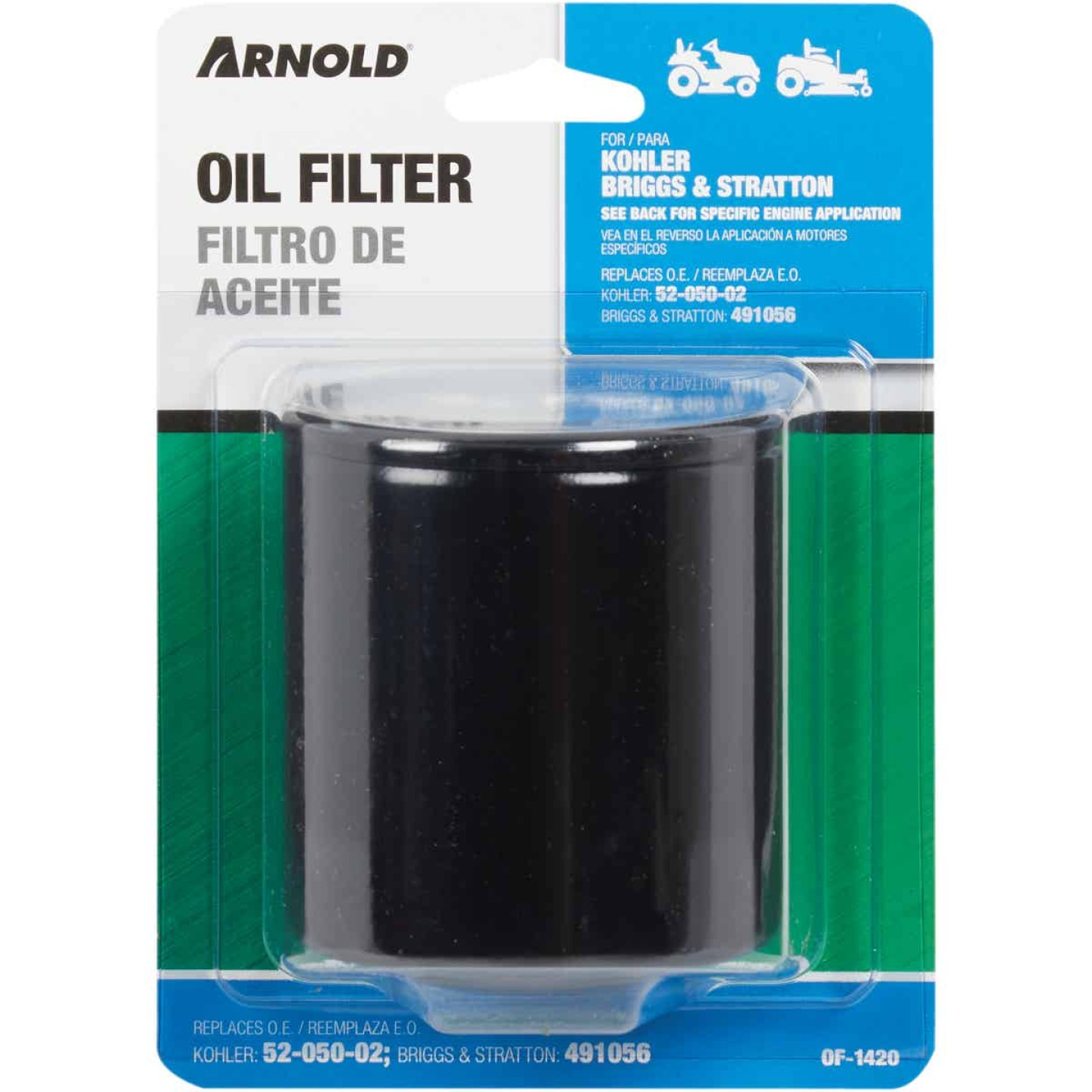 Arnold Oil Filter for Briggs & Stratton and Kohler Engines Image 2