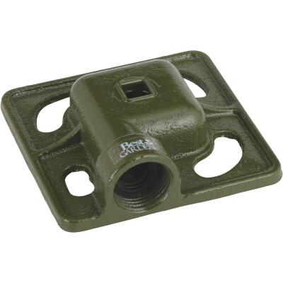 Best Garden Metal 30 Ft. Dia. Square Stationary Sprinkler, Green