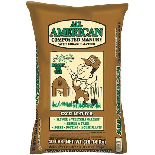 All American 40 Lb. Cow Manure