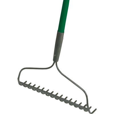 Do it Best 16.5 In. Steel Bow Garden Rake (16-Tine)