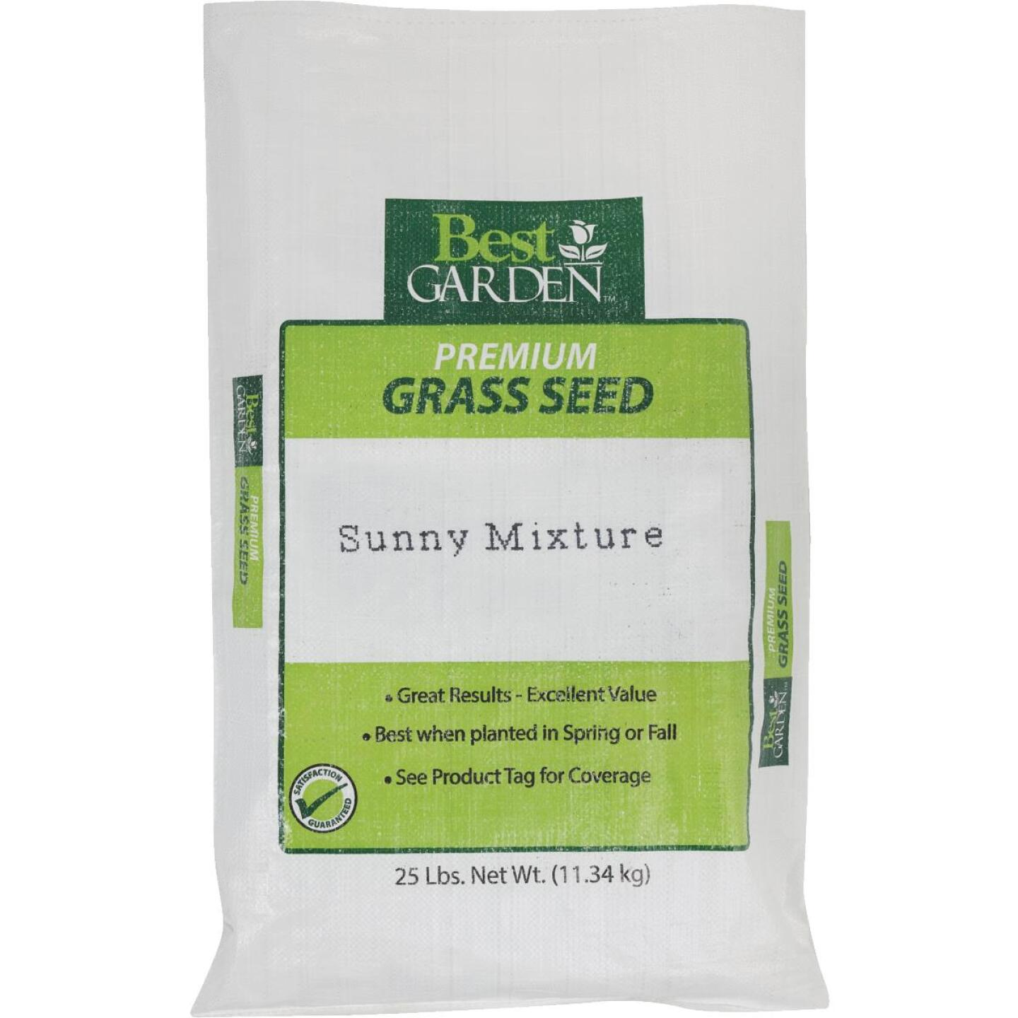 Best Garden 25 Lb. 7500 Sq. Ft. Coverage Full Sun Grass Seed Image 1