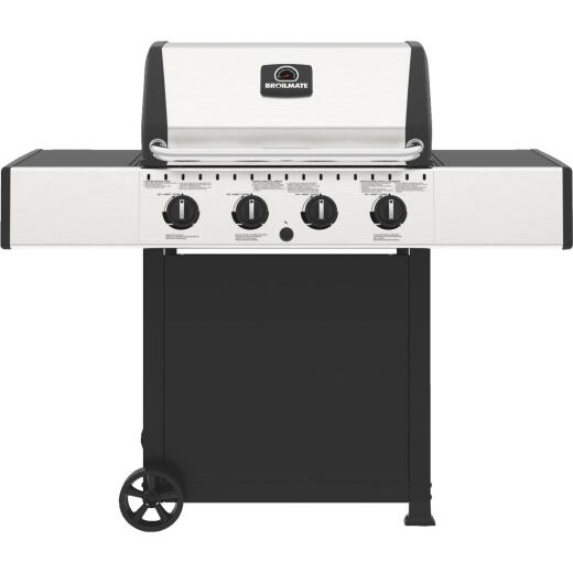 Broil Mate 4-Burner Stainless Steel 40,000-BTU LP Gas Grill