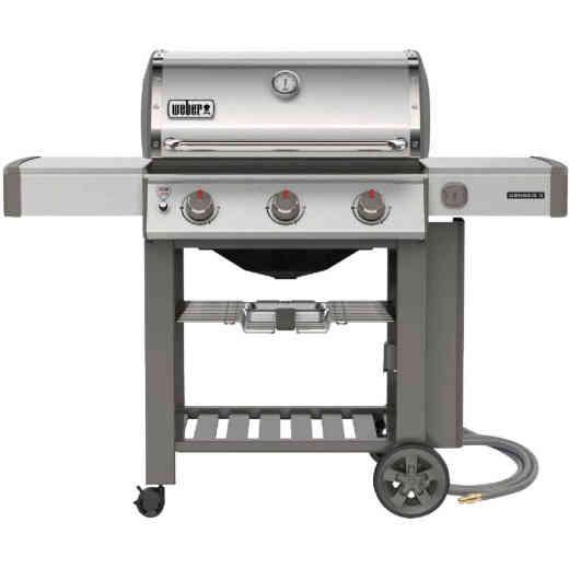 Weber Genesis II S-310 3-Burner Stainless Steel 39,000-BTU Natural Gas Grill